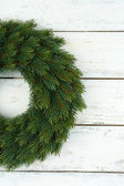 Decorative Christmas wreath — Stock Photo