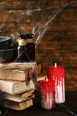 Frightful still life for Halloween — Stockfoto