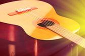 Guitar close-up — Stock Photo