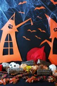 Halloween bright scenery — Stock Photo