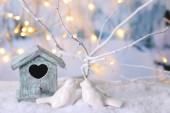 Krásné vánoční skladby — Stock fotografie
