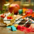 Still life with professional art materials — Stock Photo #57052667