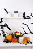 Composition de l'halloween — Photo
