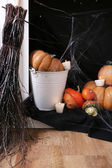 Halloween composition — Stock Photo