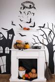 Halloween composition — Stock Photo