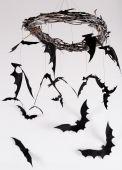 Paper bats — Stockfoto