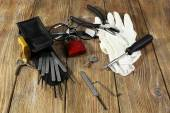 Tools of picking locks — Stock Photo