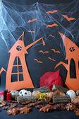 Halloween landskap — Stockfoto