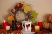 Festive autumn decor — Photo