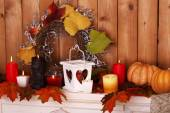 Festive autumn decor — Stockfoto