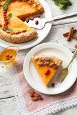 カボチャのパイ — ストック写真