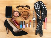 Women's fashion essentials — Stock Photo