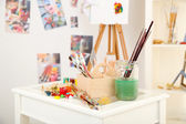 Art studio — Stock Photo