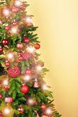 Christmas tree in room — Foto de Stock