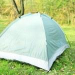 Touristic tent on grass — Stock Photo #57874219