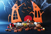 Halloween wizardry scenery — Stock Photo