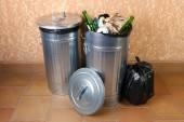 リサイクルのゴミ箱 — ストック写真