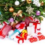 Presents under Christmas tree — Stock Photo #57974049