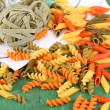 Variety of colorful pasta — Stock Photo #59730047