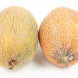 Melons isolated on white — Stock Photo #59730287
