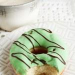 Bitten delicious donut — Stock Photo #60779397