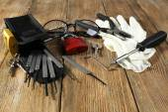 Tools of picking locks — Stock Photo