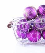 Beautiful Christmas balls — Stock Photo