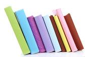 Falling colorful books — Stock Photo