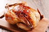 Pyszny kurczak pieczony — Zdjęcie stockowe