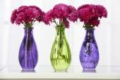 Mooie boeketten van bloemen — Stockfoto