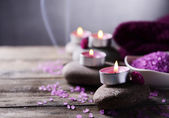 Composition of spa treatment — Stockfoto