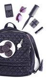 Content of female handbag — Stock Photo