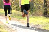 Young people jogging — Stock Photo
