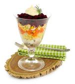 Russian herring salad — Stock Photo