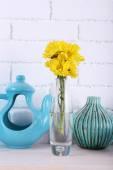 Beautiful blue decorations — Fotografia Stock