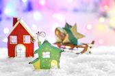 Bellissima composizione di Natale — Foto Stock