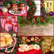 Merry Christmas collage — Stock Photo #60838077
