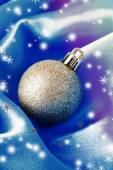 Beautiful Christmas ball — Stock Photo
