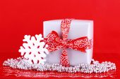 Gifts and Christmas decoration — Foto Stock