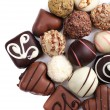 Chocolate sweet collection — Stock Photo #60871979