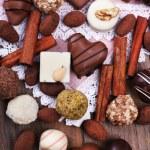 Sweet chocolates assorted — Stock Photo #60872219