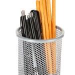 Pens and sharp pencils — Stock Photo #60874869