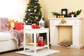 Beautiful Christmas interior — Zdjęcie stockowe