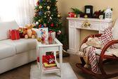 Beautiful Christmas interior — Stockfoto