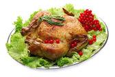 Baked chicken for  dinner — Foto Stock