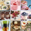 Delicious desserts collage — Stock Photo #60880213