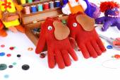 Making of handmade toys — Stock Photo