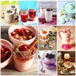 Delicious desserts collage — Stock Photo #60923893