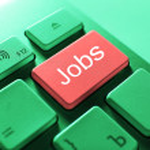 JOBS keyboard button — Stock Photo #60961439