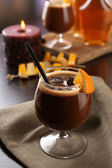 Espresso cocktail served on table — Стоковое фото